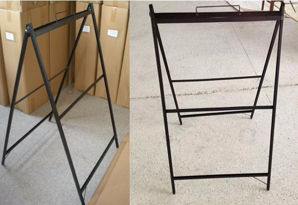 Fold Placard Chassis, Flex Advertise Stands, Shrink Poster Footing