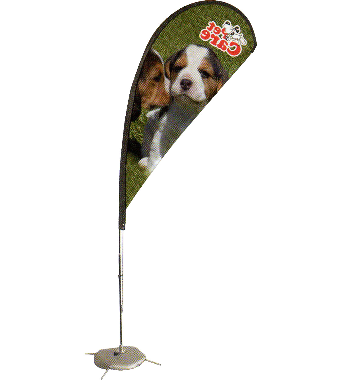 Feather Flag Stand, Shore Placard Ensign, Coast Daybill Standard