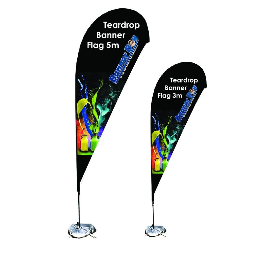 Cheap Medium Teardrop Flag Price, China Medium Teardrop Flag Quotes, OEM Medium Teardrop Flag Factory
