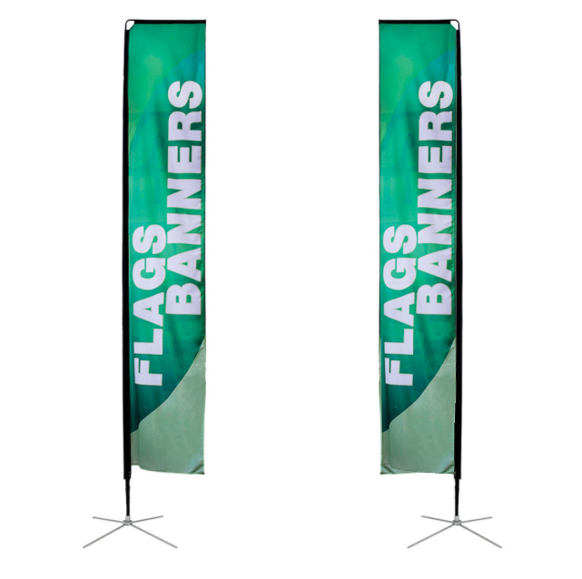 Flying Banner Stand, Shore Streamer Ensign, Coast Playbill Flag