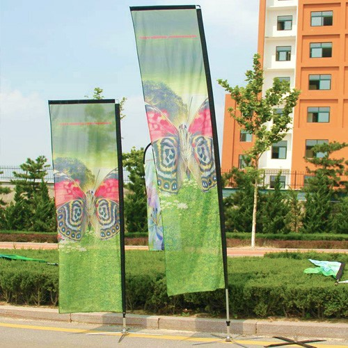 Feather Flag Banners, Shore Poster Flag, Sand Daybill Flag