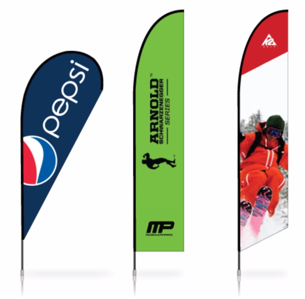 Feather Flag Banners, Shore Daybill Standard, Sand Notice Flag