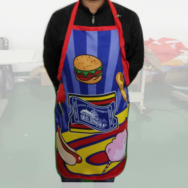 Daybill Rope Apron, Poster Flag Apron, Notice Flag Sarong