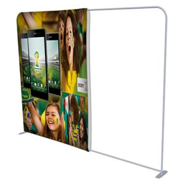 Ez Tube Display, Flex Curtain Shelf, Shrink Screen Shelf