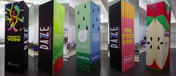 Tower Banner Frame, Tower Poster Stand, Tower Notice Stand