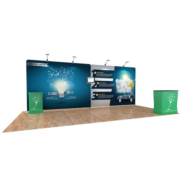 20ft EZ Tube Booth Kits