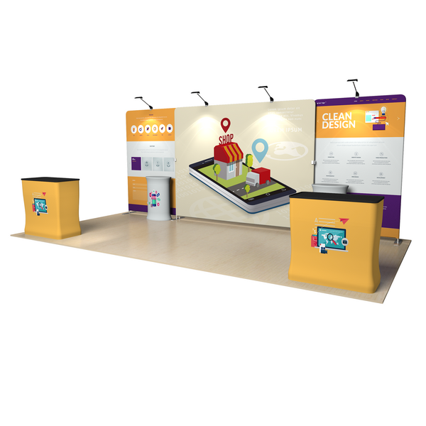 Trade Show Booth, Market Activity Area, Sales Events Area