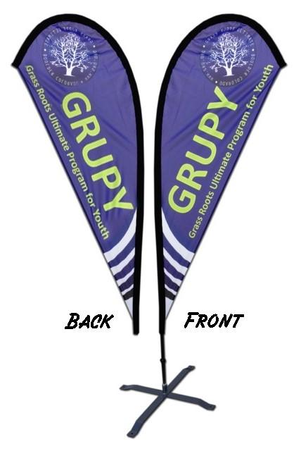 Feather Flag Pole Supplier, Coast Poster Flag, Beach Placard Ensign
