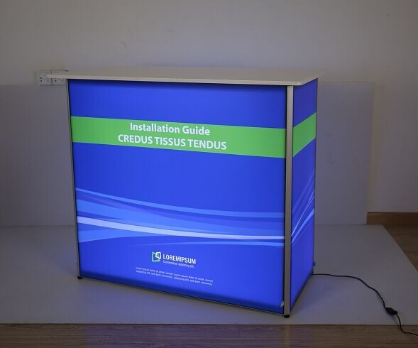 Buy Backlit Promotion Counter Factory, OEM Backlit Promotion Counter Price, China Backlit Promotion Counter Quotes