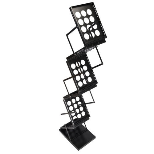 Zig Zag Brochure Holder, Flyer Alloy Stand, Book Alloy Stand