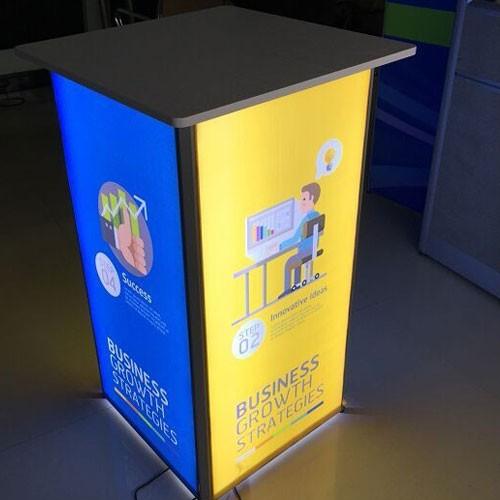 Backlit Promotion Counter
