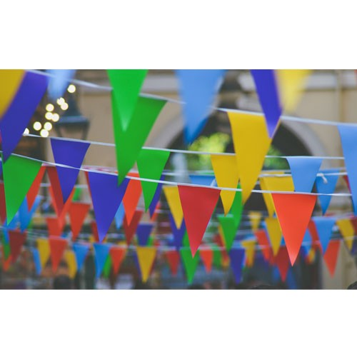 String Bunting Pennant Flag