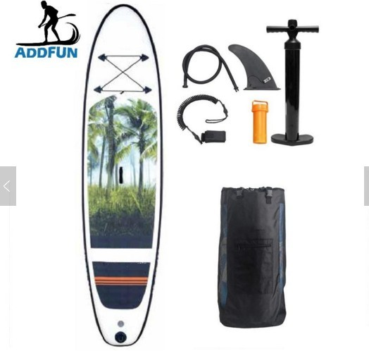 AddFun Inflatable Stand Up Paddle Board 10'6