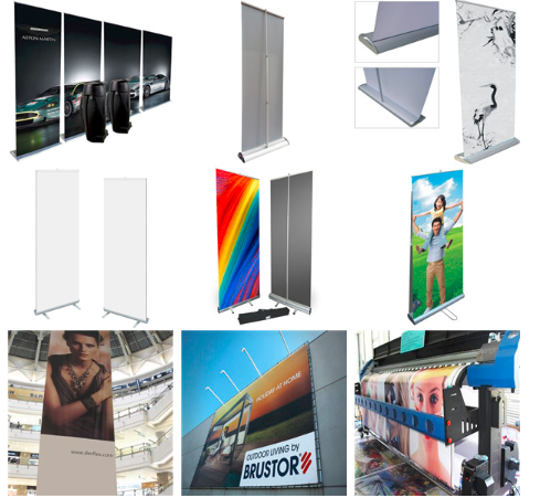 Fold Banner L Shaped Banner Stand
