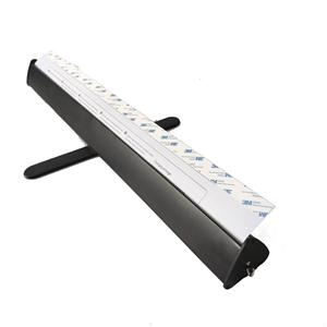 2020 New Triangle Retractable Banner Stand Black Color