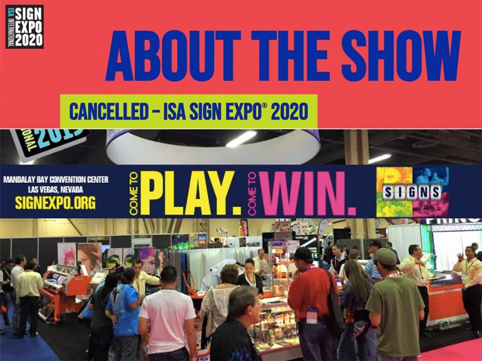 ISA Sign Expo 2020 Cancelled Due to COVID-19