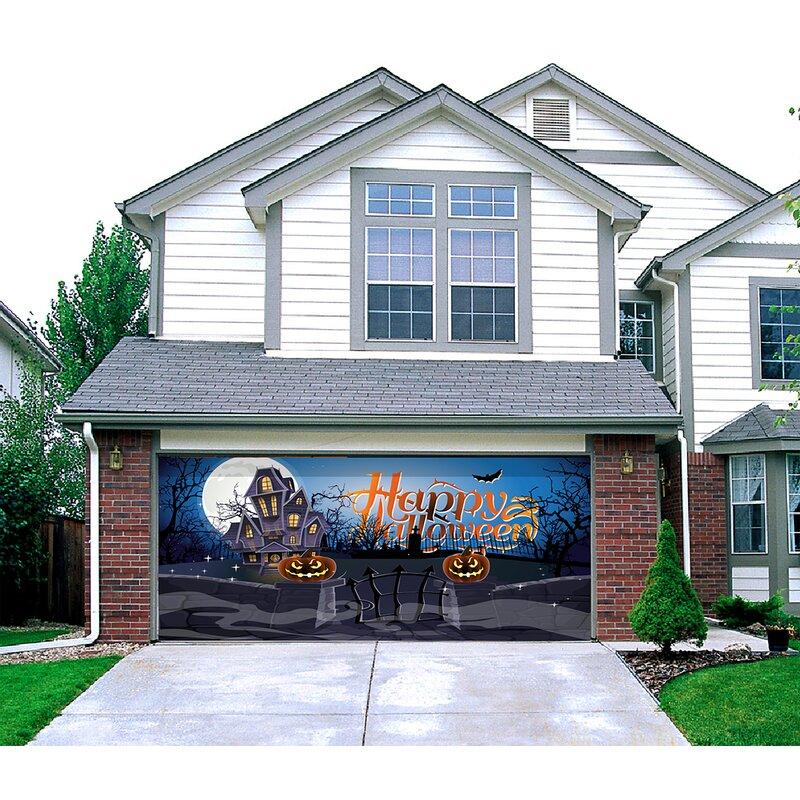 2021 Halloween Decoration Banner Garage Door Mural Manufacturers, 2021 Halloween Decoration Banner Garage Door Mural Factory, Supply 2021 Halloween Decoration Banner Garage Door Mural
