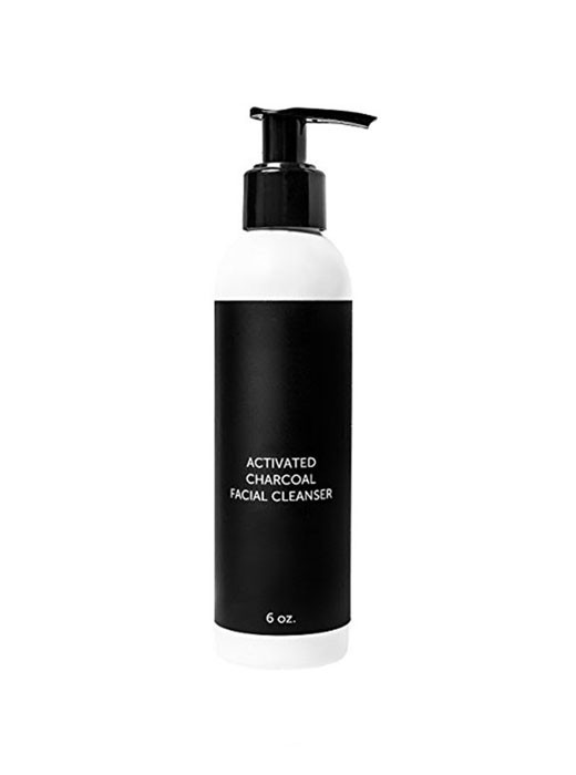 Private Label Activated Charcoal Facial Cleanser