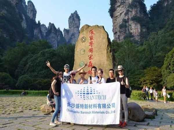 Viaje de agosto de Zhangjiajie