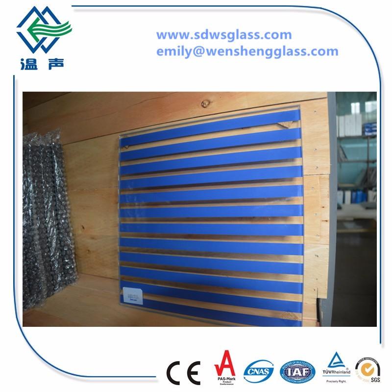 Toughened Silk Screen Printing Glass