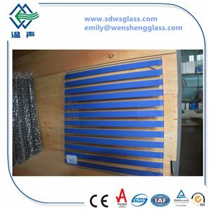 Toughened Silk Screen Printing Glass
