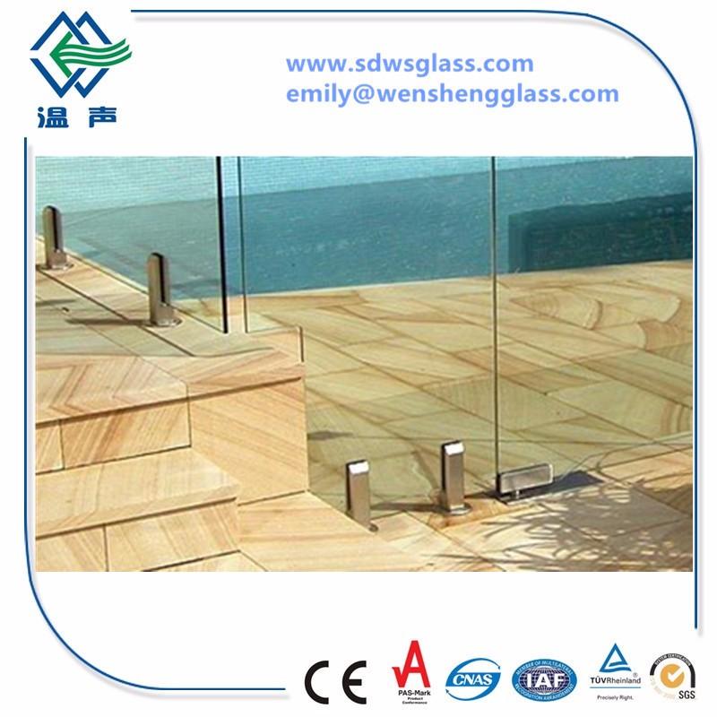 Swimming Pool Laminated Glass