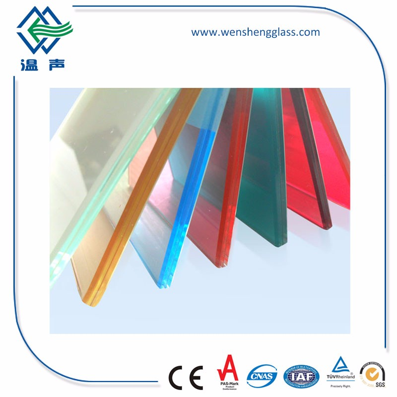 16.76mm Tempered Laminated Glass