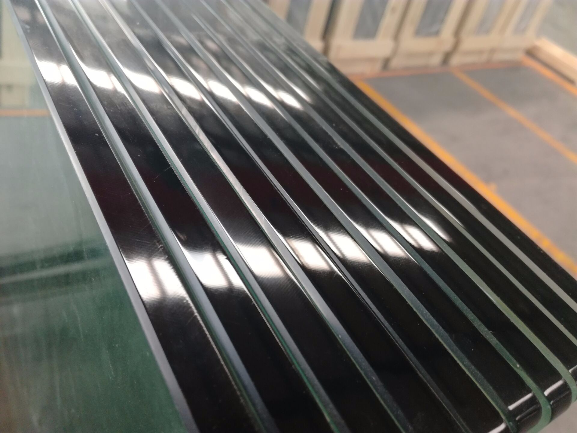 Round Edge Tempered Glass Manufacturers, Round Edge Tempered Glass Factory, Round Edge Tempered Glass