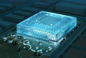 Water Cube Glass Manufacturers, Water Cube Glass Factory, Water Cube Glass