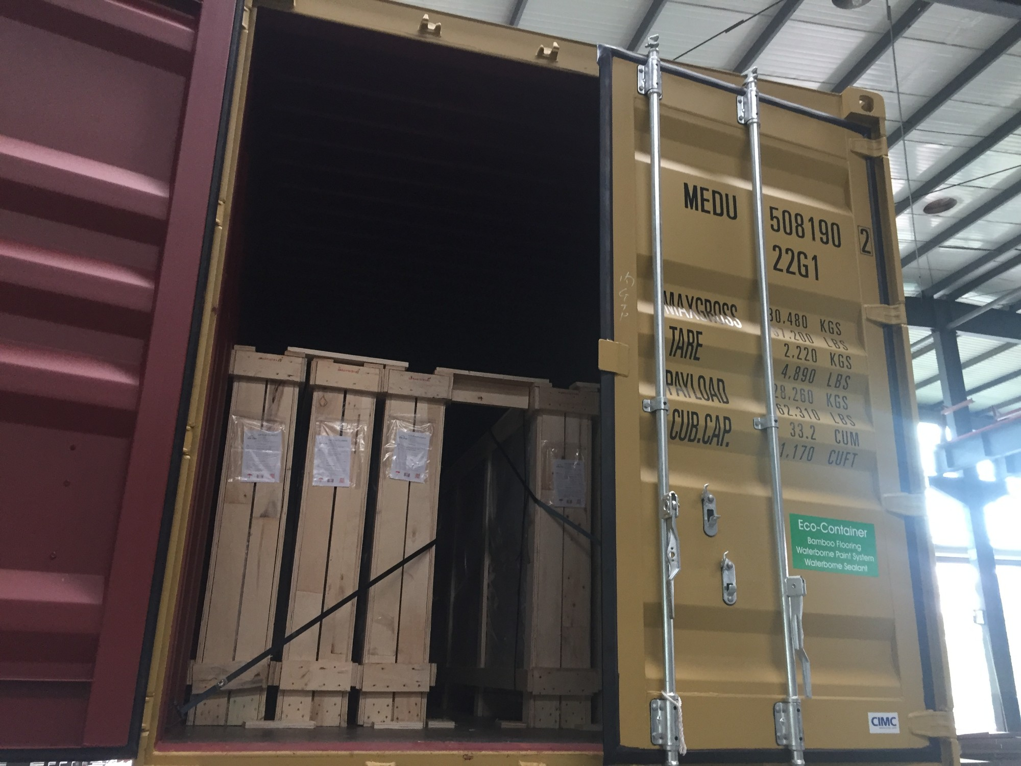 Package And Load Of Container
