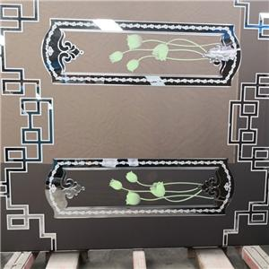 Clear Acid Etched Glass Manufacturers, Clear Acid Etched Glass Factory, Clear Acid Etched Glass
