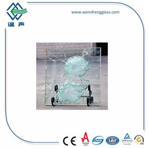 Float Laminated Bulletproof Glass