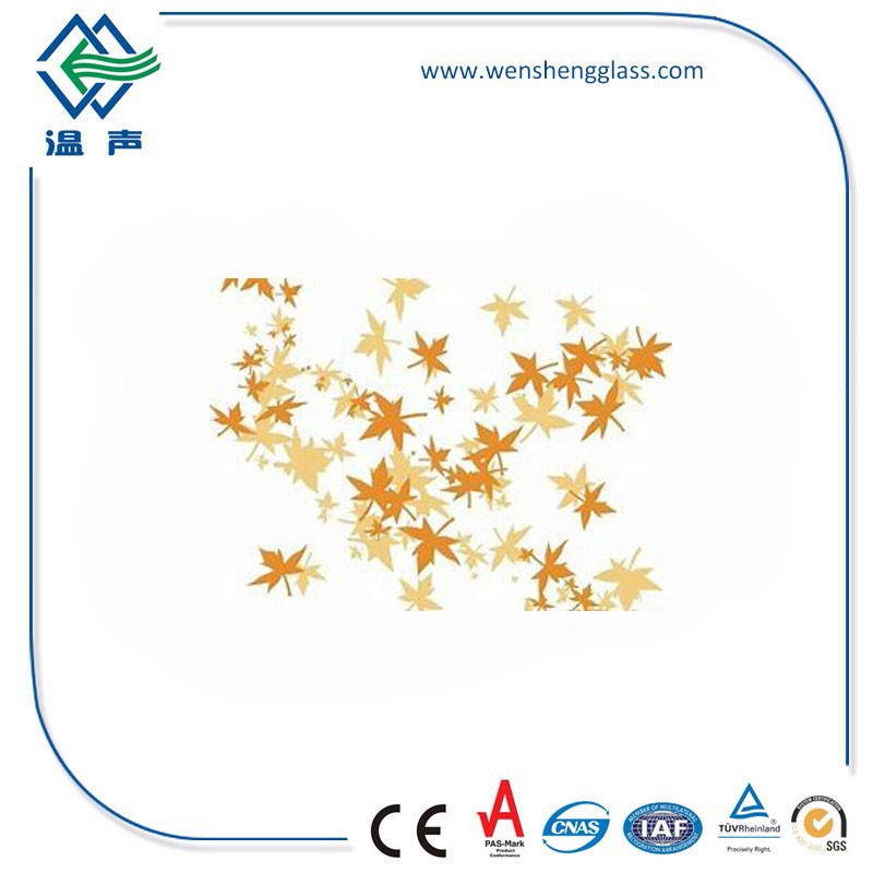 Leaves Pattern Glass Manufacturers, Leaves Pattern Glass Factory, Leaves Pattern Glass