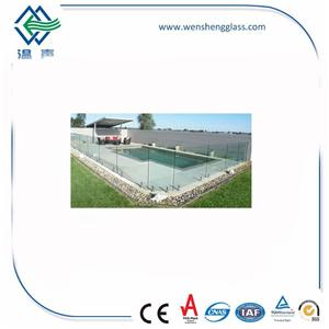 Swimming Pool Tempered Glass
