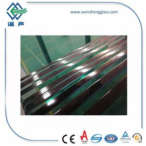 Round Edge Tempered Glass