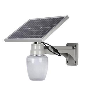 Outdoor IP67 waterproof 15w 20w 30w solar led street light lamp