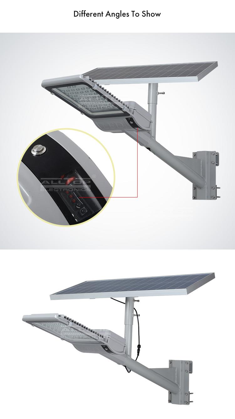 30w solar led street light