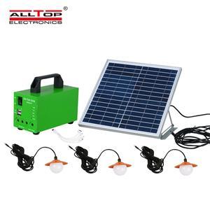 20w 30w 50w Solar Lighting System For Backup
