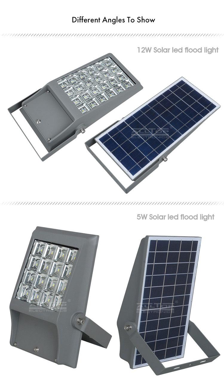 led solar powered flood lights