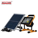 portable solar led flood light