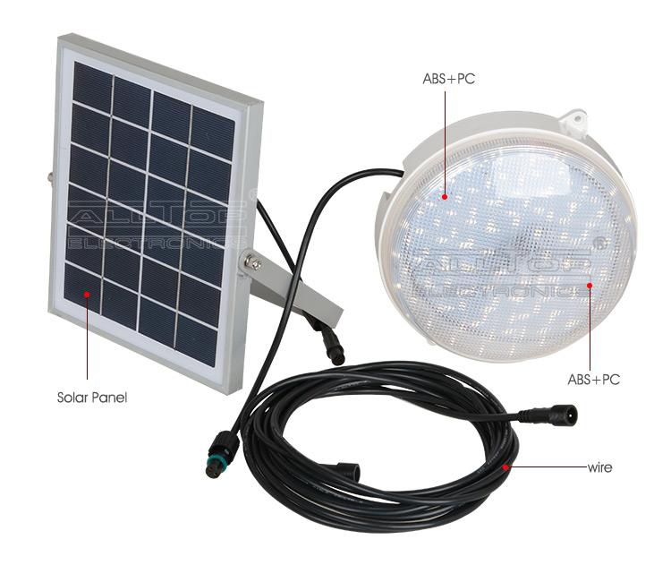 solar led outdoor wall light