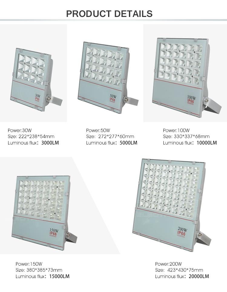 led flood light housing