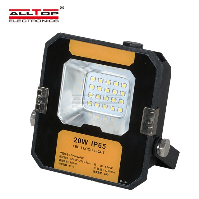 Outdoor IP65 Waterproof Bridgelux Cob Led Flood Light