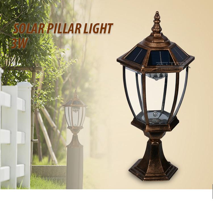 Gate Post Pillar Light
