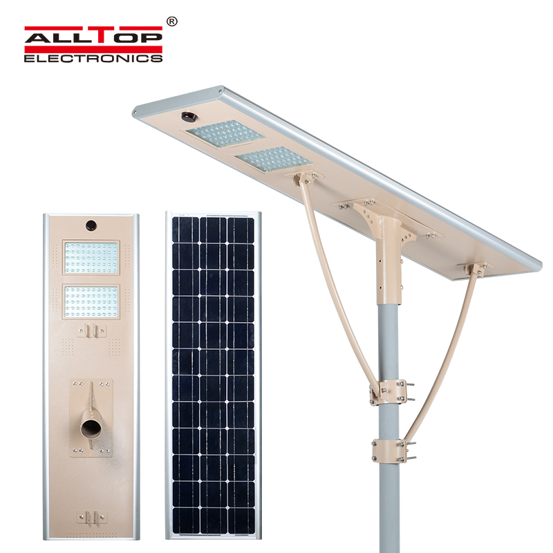 all in one solar led street light
