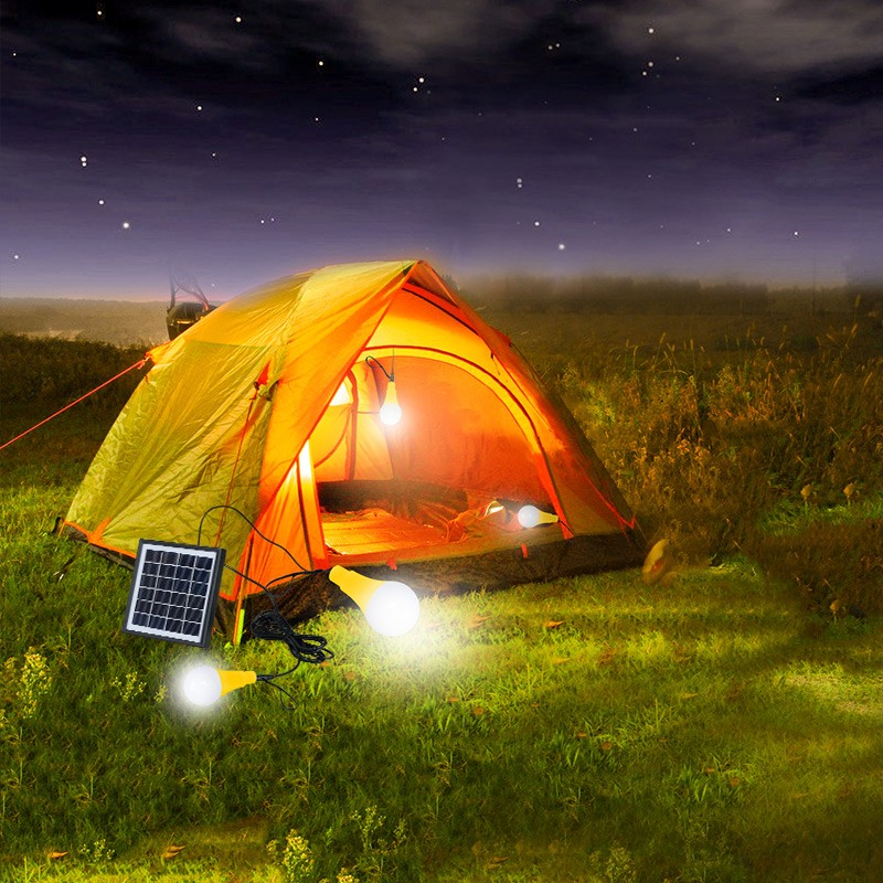 Solar LED Bulb 5W