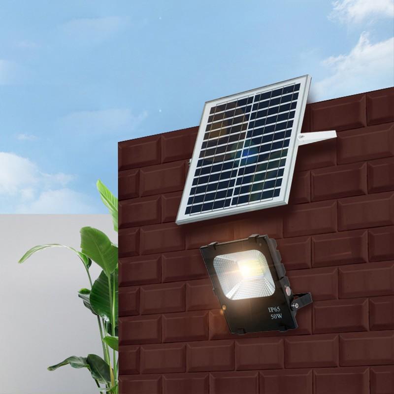 High lumen 10w 20w 30w 50w 100w solar led flood light