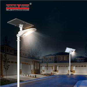 ALLTOP Manufacturer Price Waterproof IP65 50W Outdoor All In One Solar Street Light