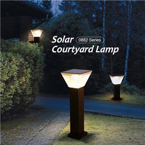 ALLTOP Outdoor All In One LED Solar Garden Light
