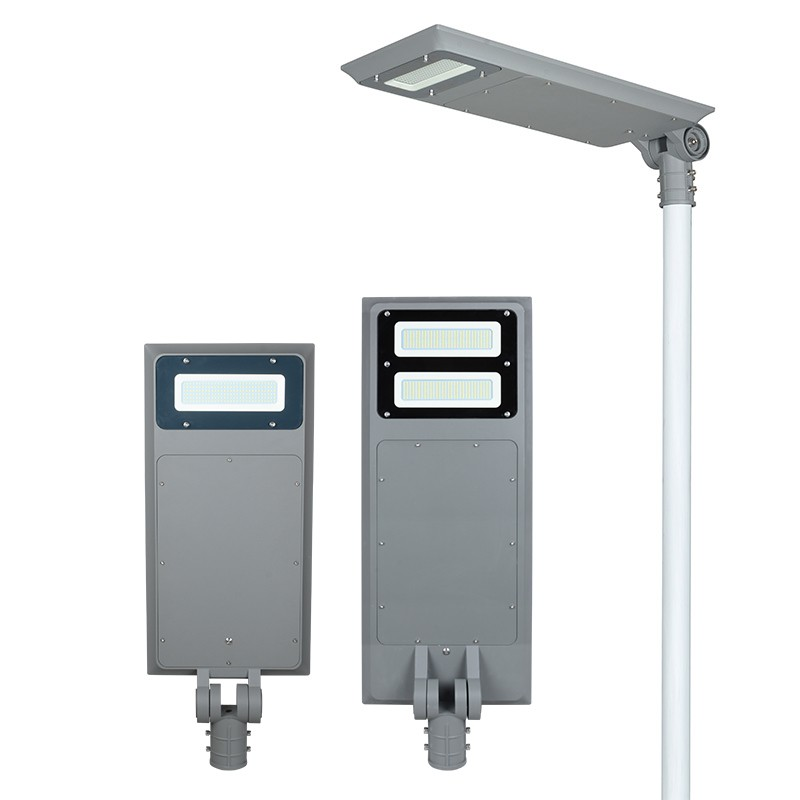 Adjustable Angle 40W 60W All In One Led Solar Street Light